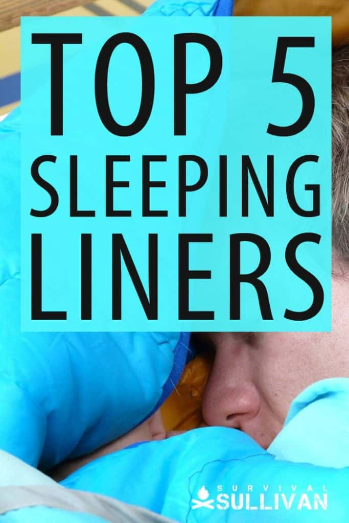top sleeping liners Pinterest image