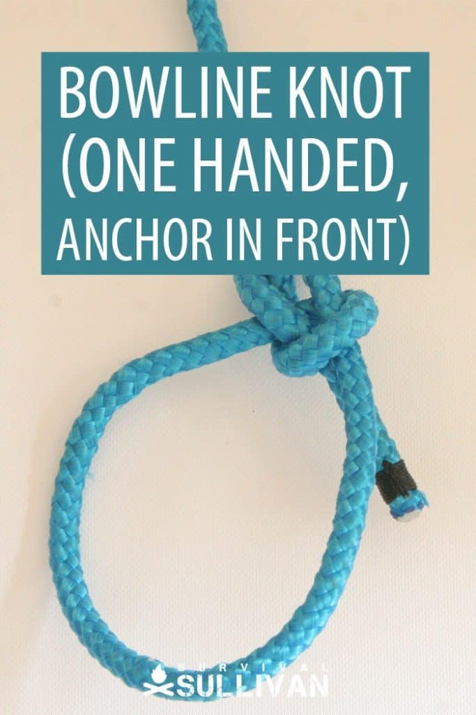 anchor in front bowline pinterest