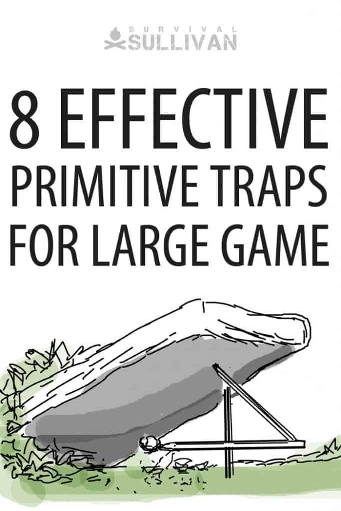 large game traps pinterest