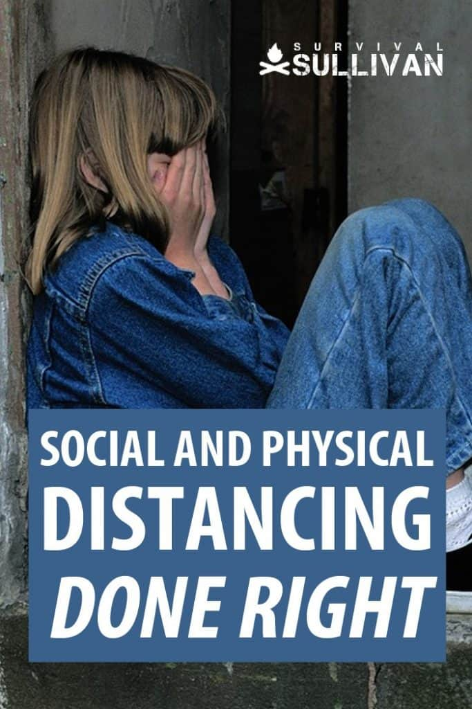 social and physical distancing pinterest image