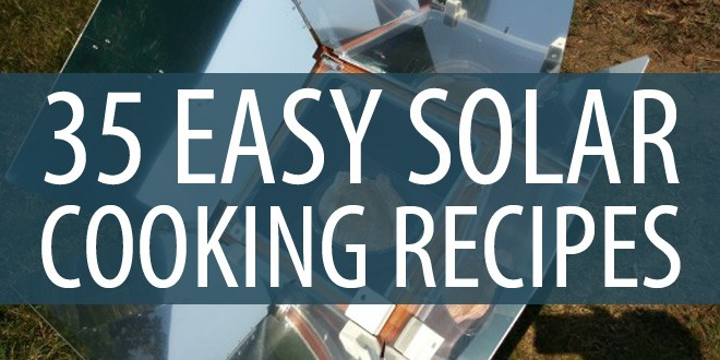 solar cooking recipes featured