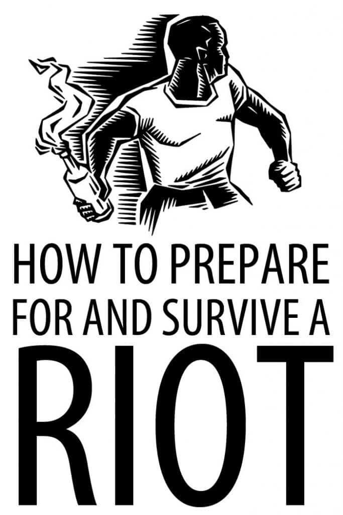 how to survive riots Pinterest image