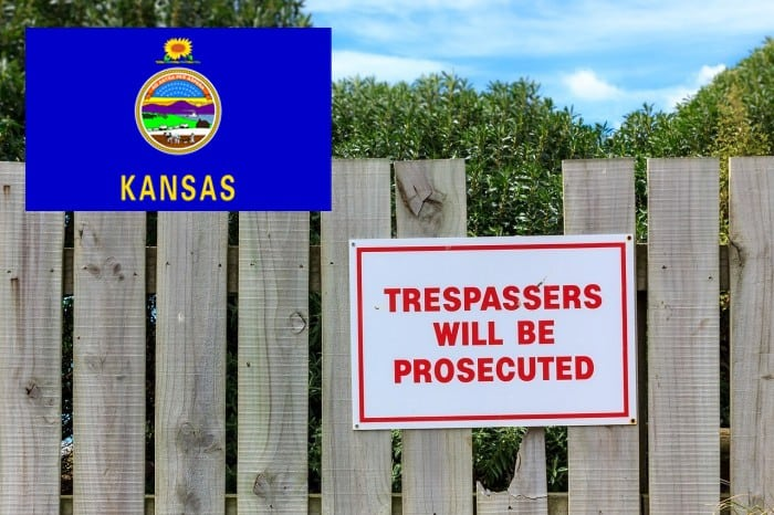 Kansas trespassing laws featured