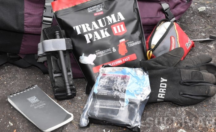 trauma kit first aid kit and other gear