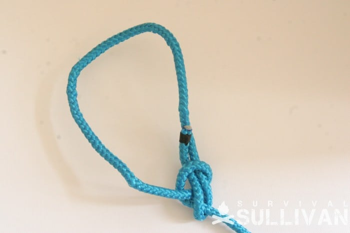 near behind bowline knot
