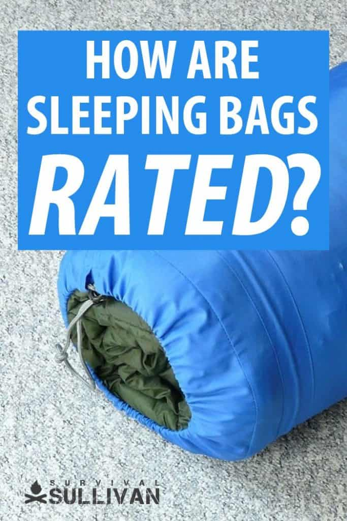 sleeping bags ratings pinterest image