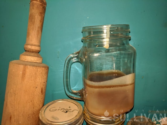 tallow in mason jar