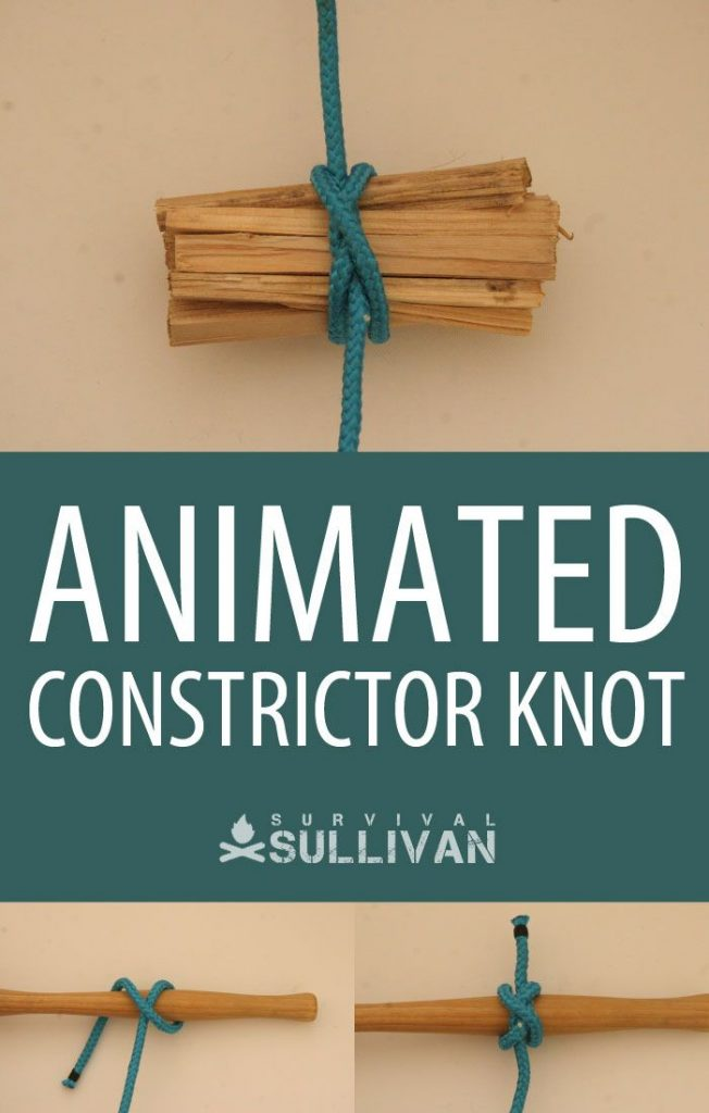 animated constrictor knot Pinterest image