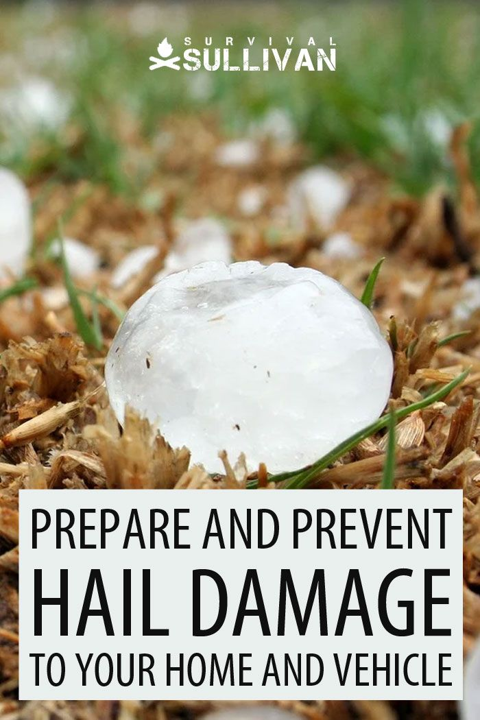 hail damage Pinterest image