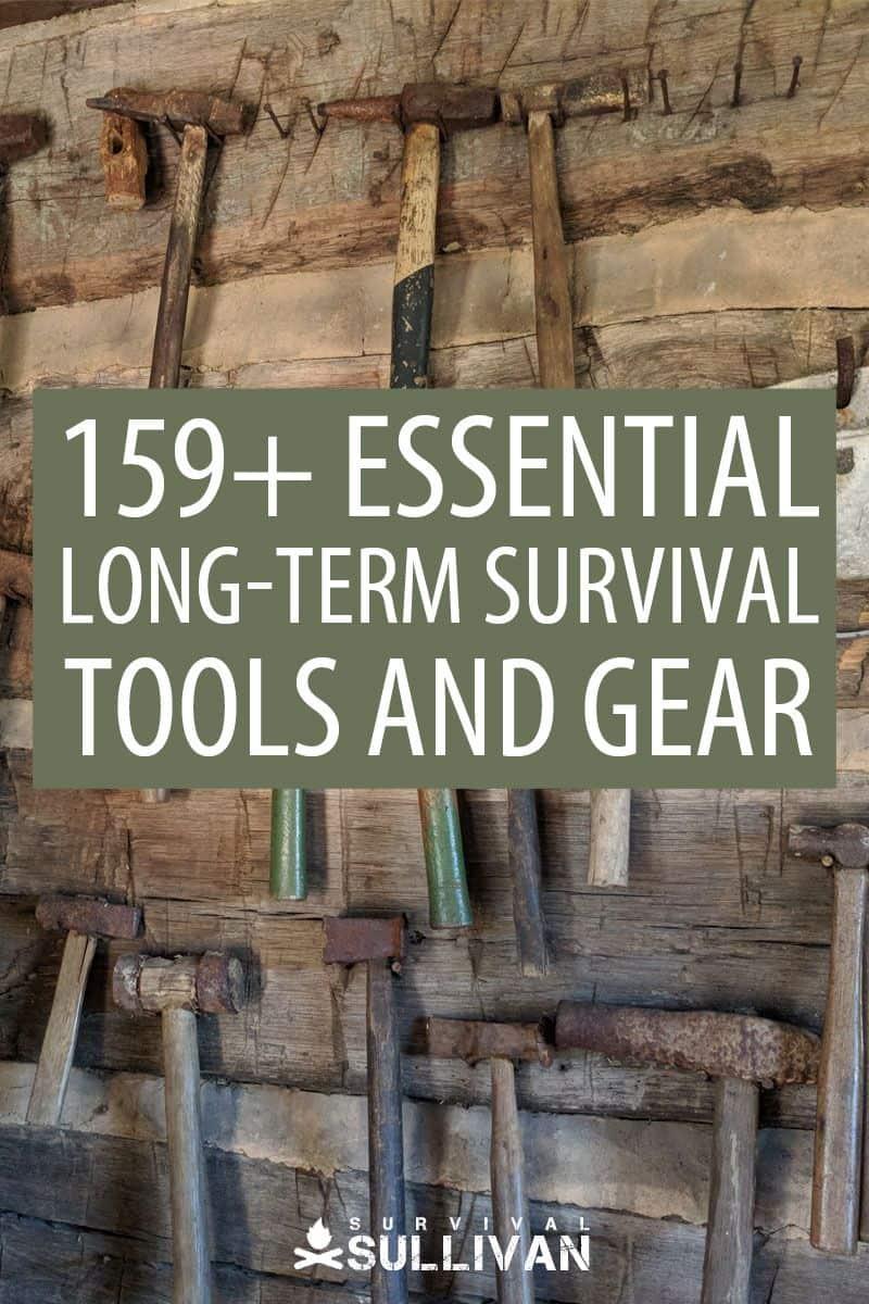 survival tools Pinterest image