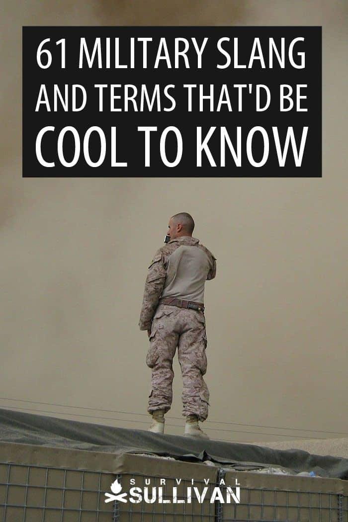 military lingo pinterest image