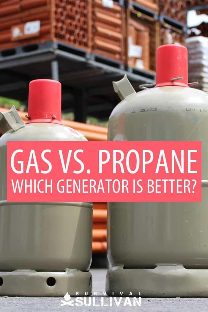 gas vs. propane Pinterest image