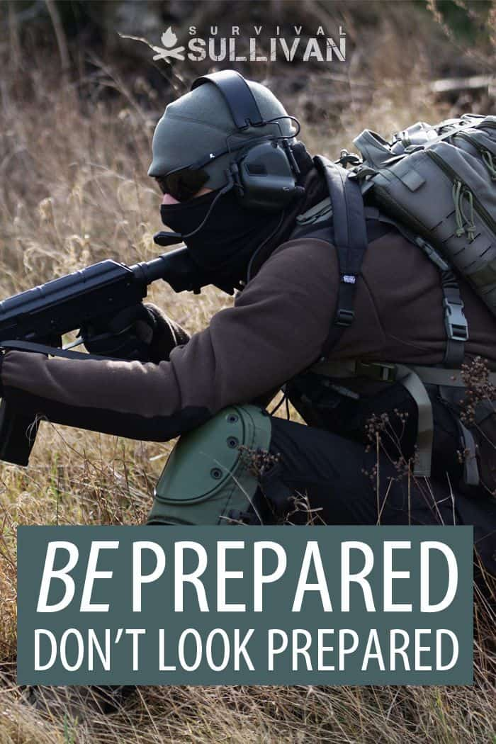not looking tactical Pinterest image