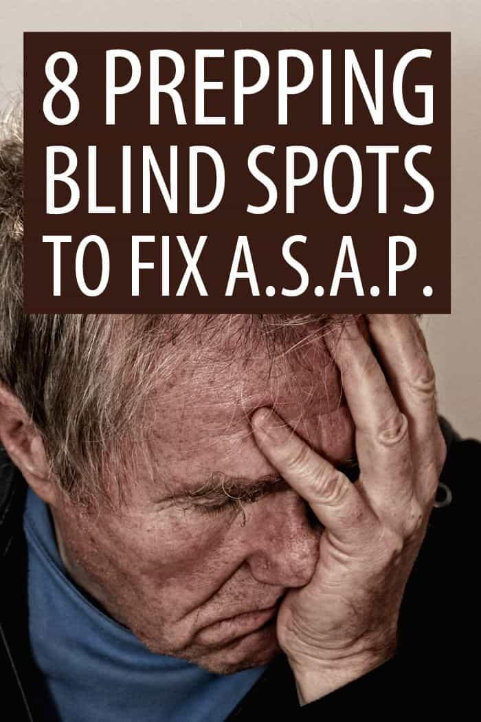 prepping blind spots Pinterest