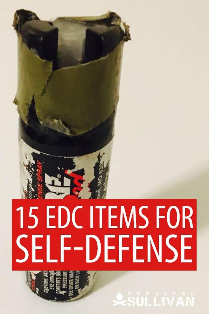 self-defense edc items pinterest 2