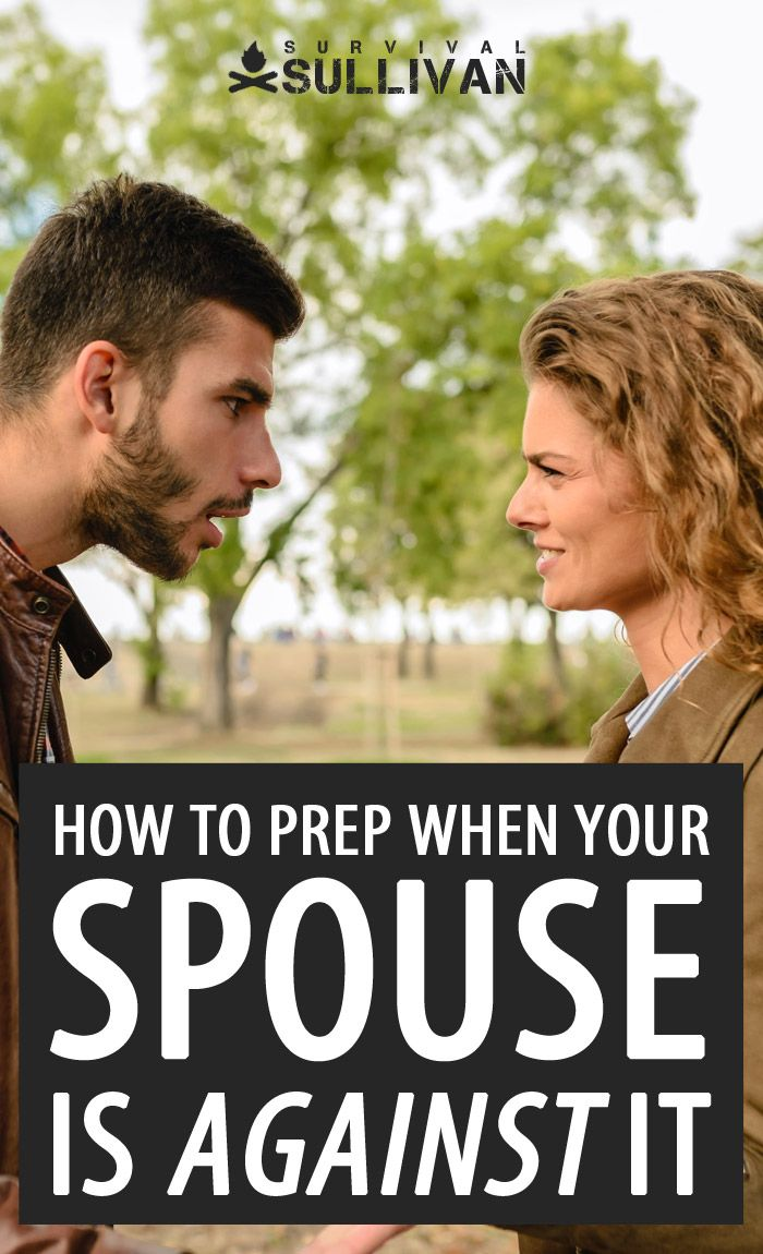 spouse against prepping Pinterest image
