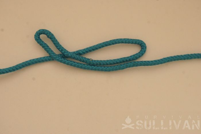 twisting constrictor knot step 2