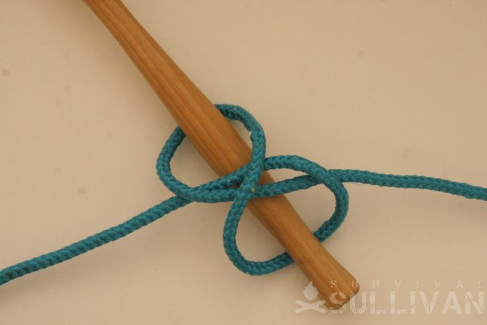 twisting constrictor knot step 5