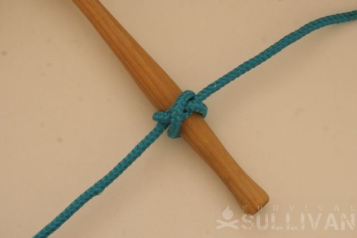 twisting constrictor knot step 6