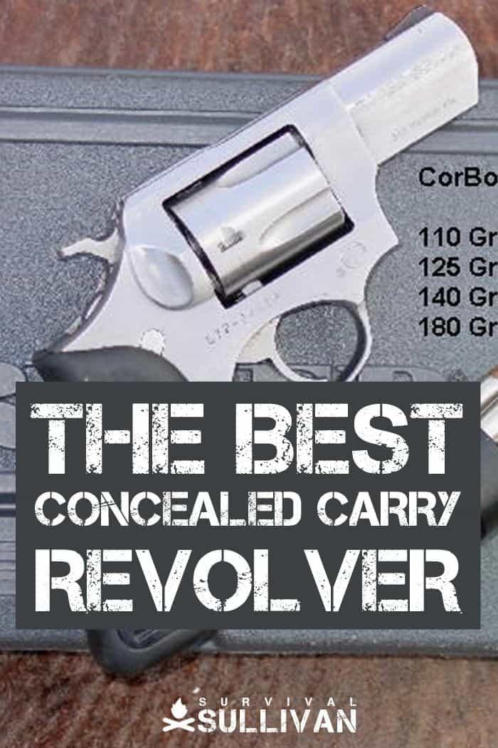 concealed carry revolver Pinterest image