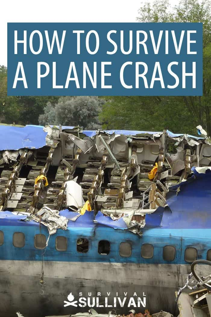 plane crash survival Pinterest image