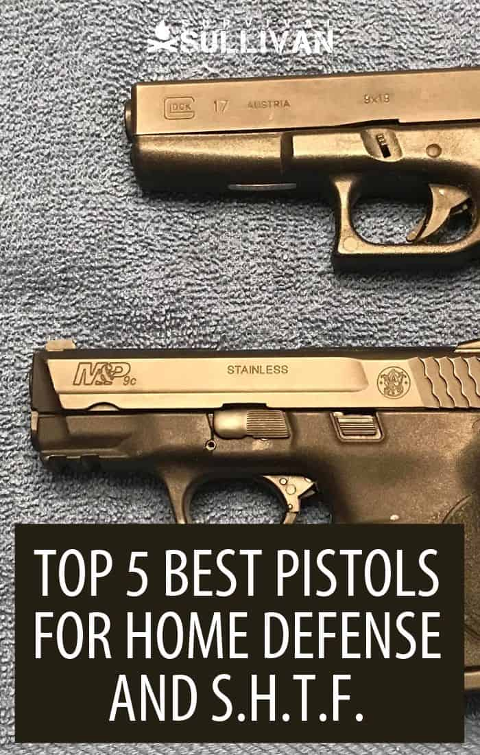 best pistols Pinterest image