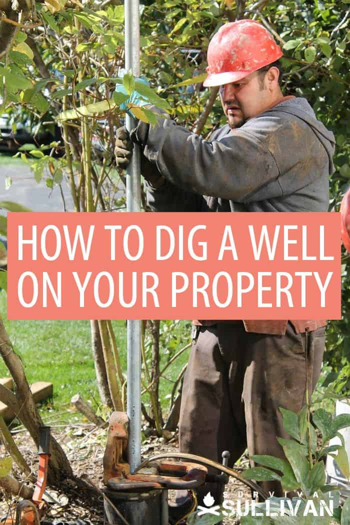 digging a well Pinterest image