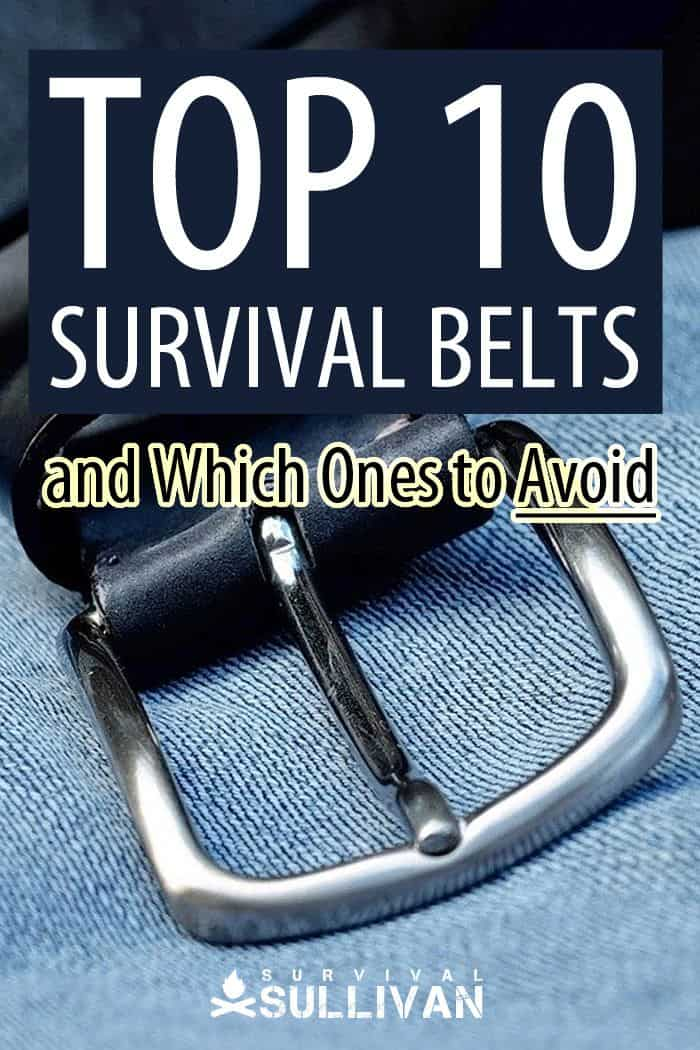 survival belts Pinterest image