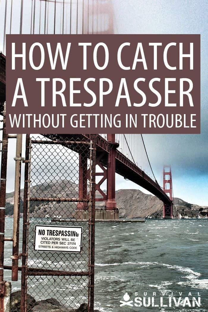 catching a trespasser pinterest image
