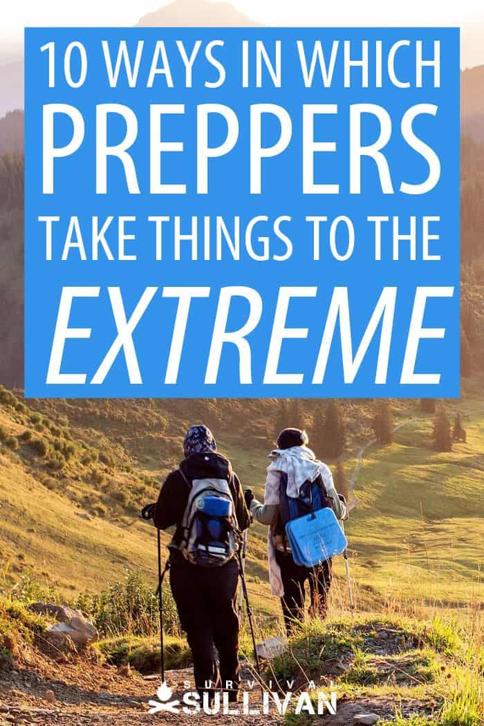 extreme preppers Pinterest image