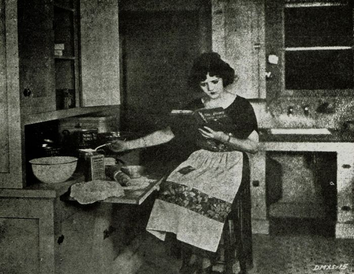cooking 100 years ago