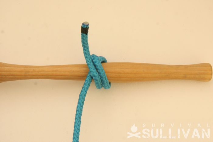 double constrictor knot step 6