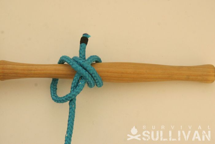 double constrictor knot step 9