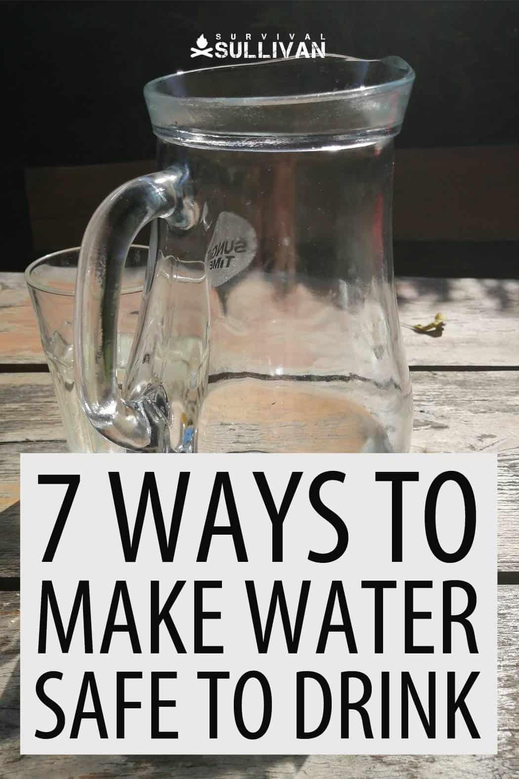 making water safe Pinterest