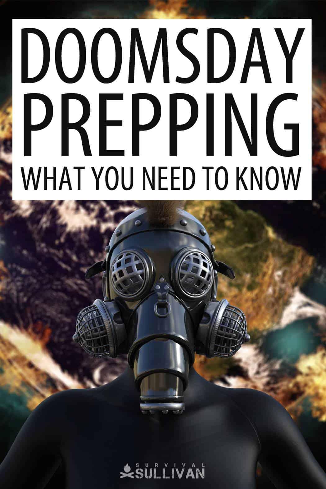 doomsday prepping Pinterest image
