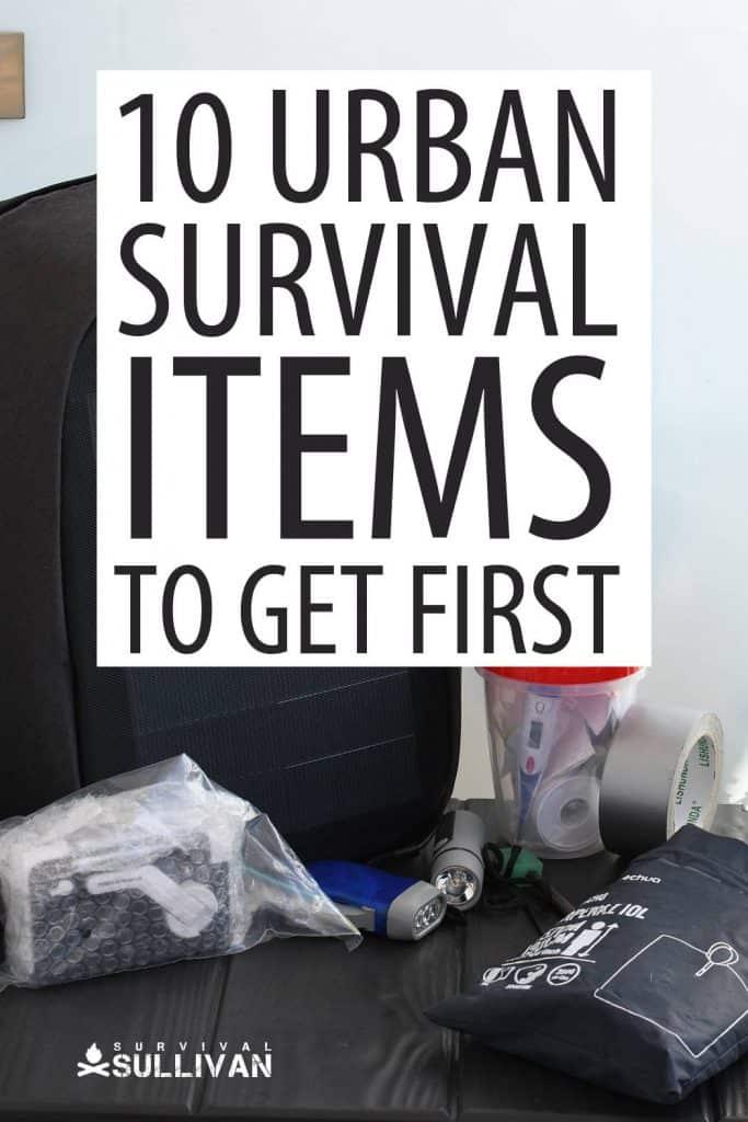 urban survival items pinterest image