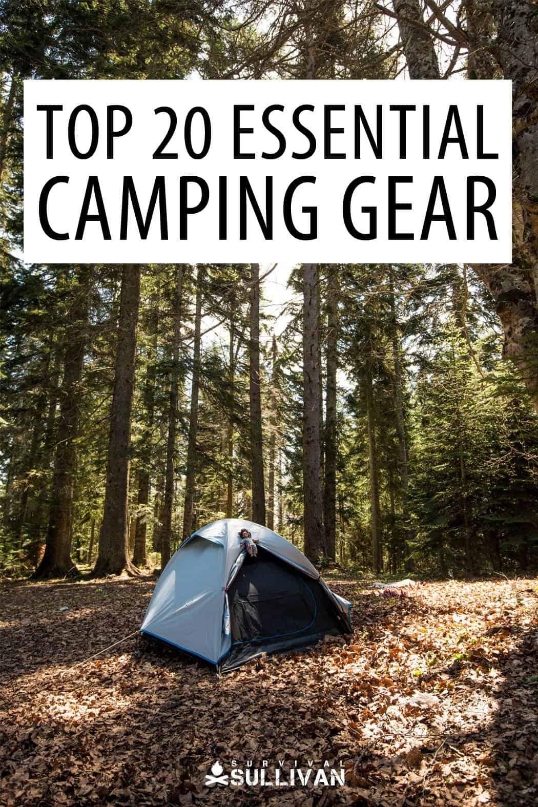 camping gear Pinterest