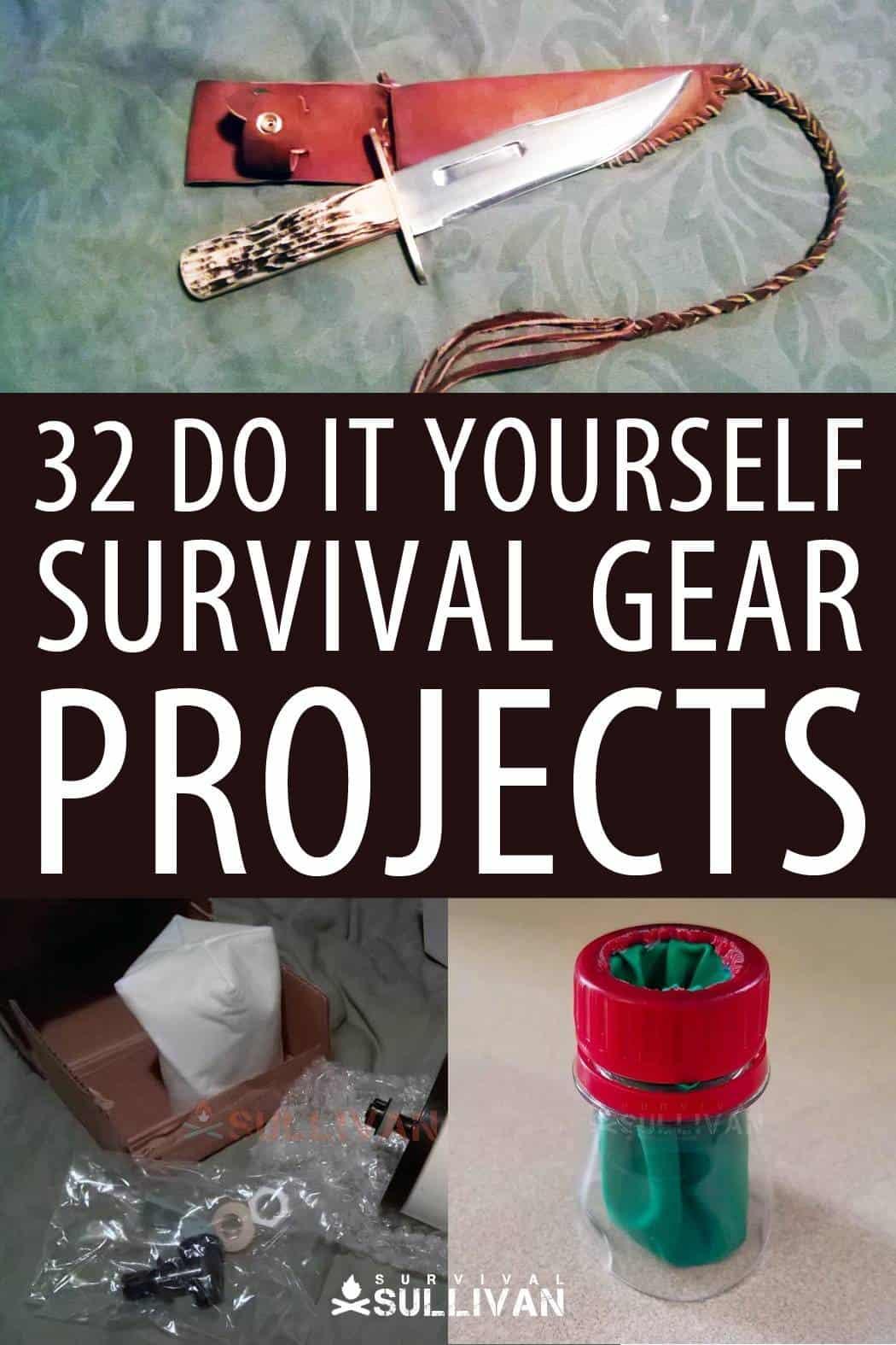 DIY survival gear pinterest image