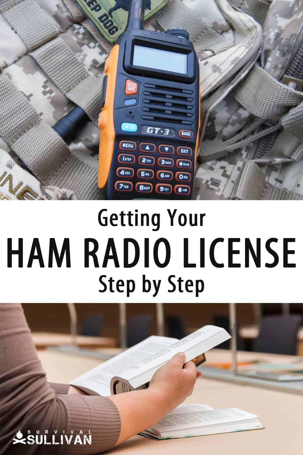 getting ham license Pinterest image