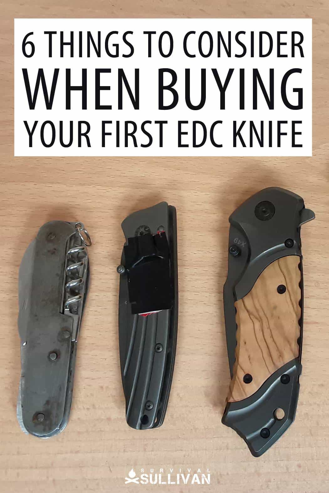 picking edc knives pinterest image