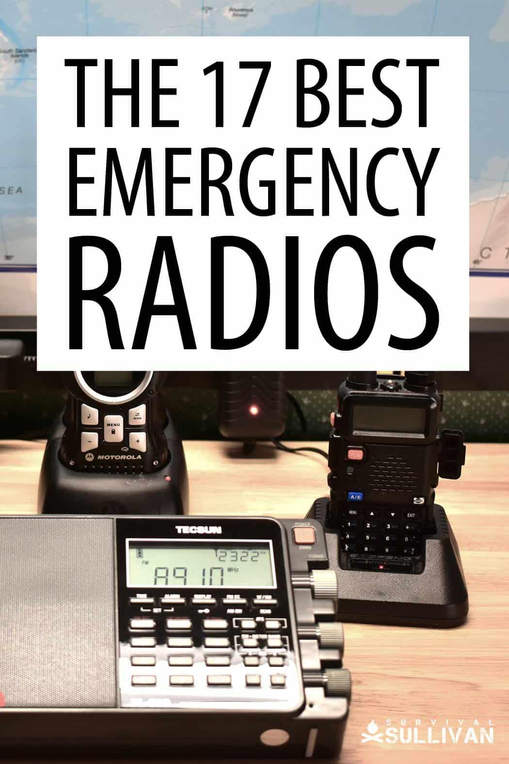 best emergency radios Pinterest image