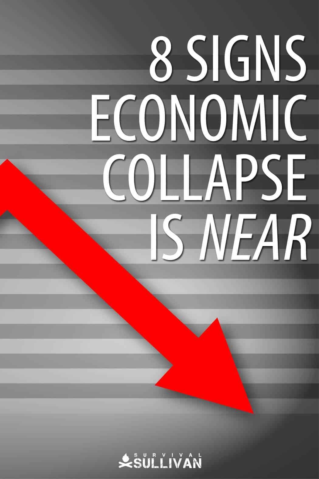 economic collapse Pinterest image