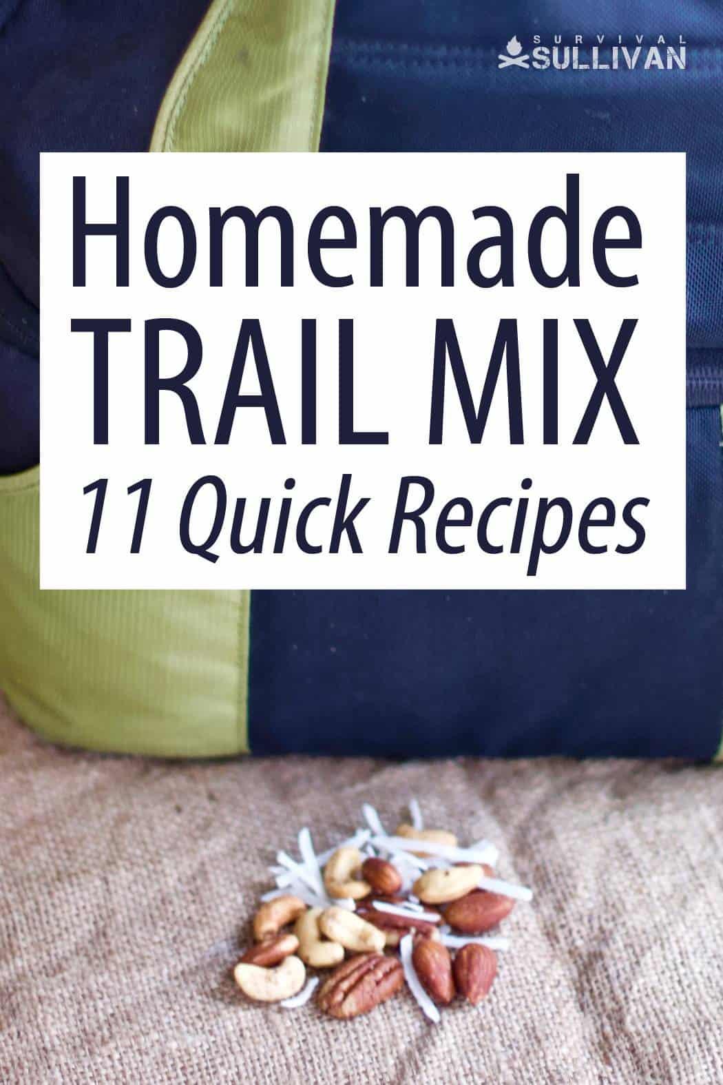 trail mix recipes Pinterest image