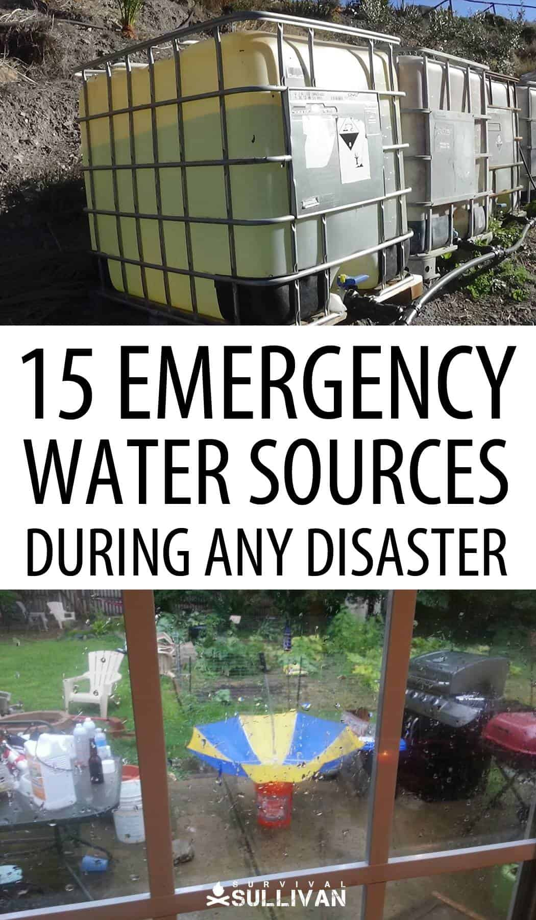 emergency water sources pin