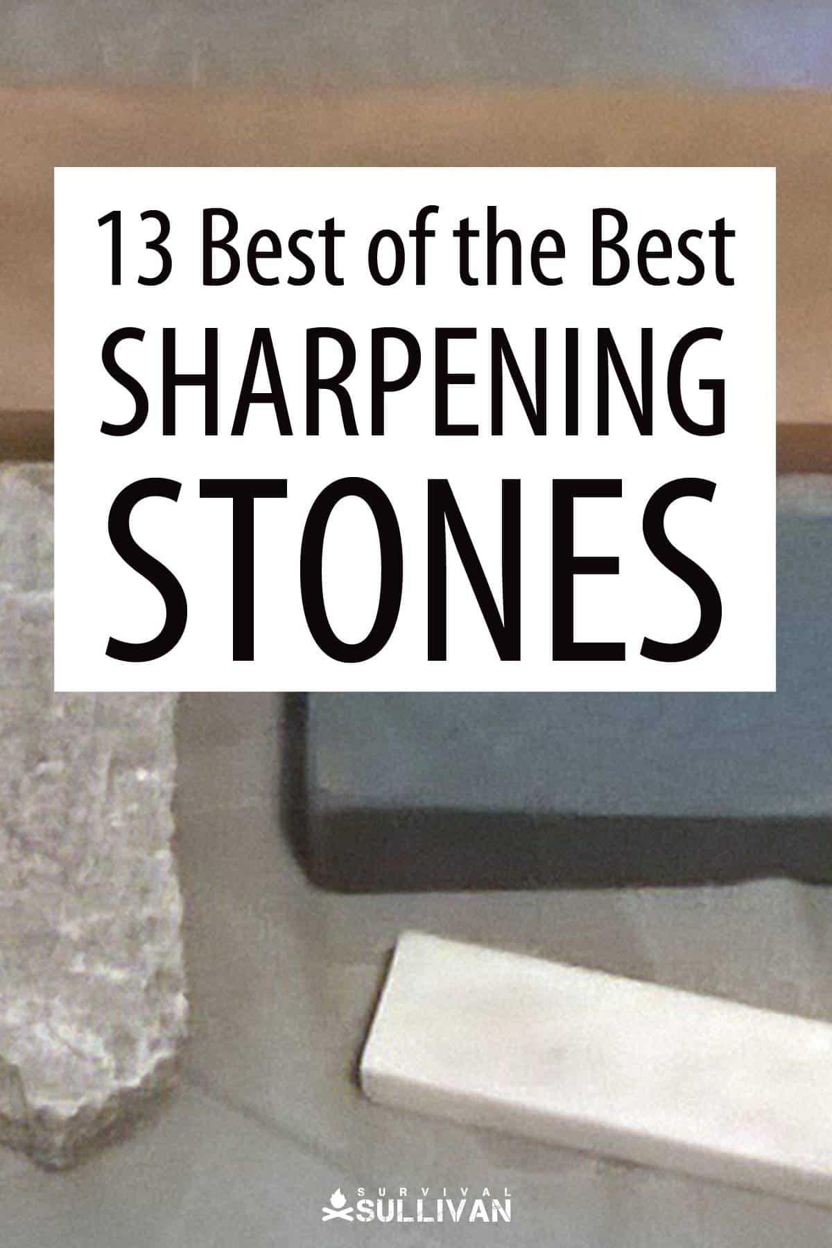 sharpening stones Pinterest image