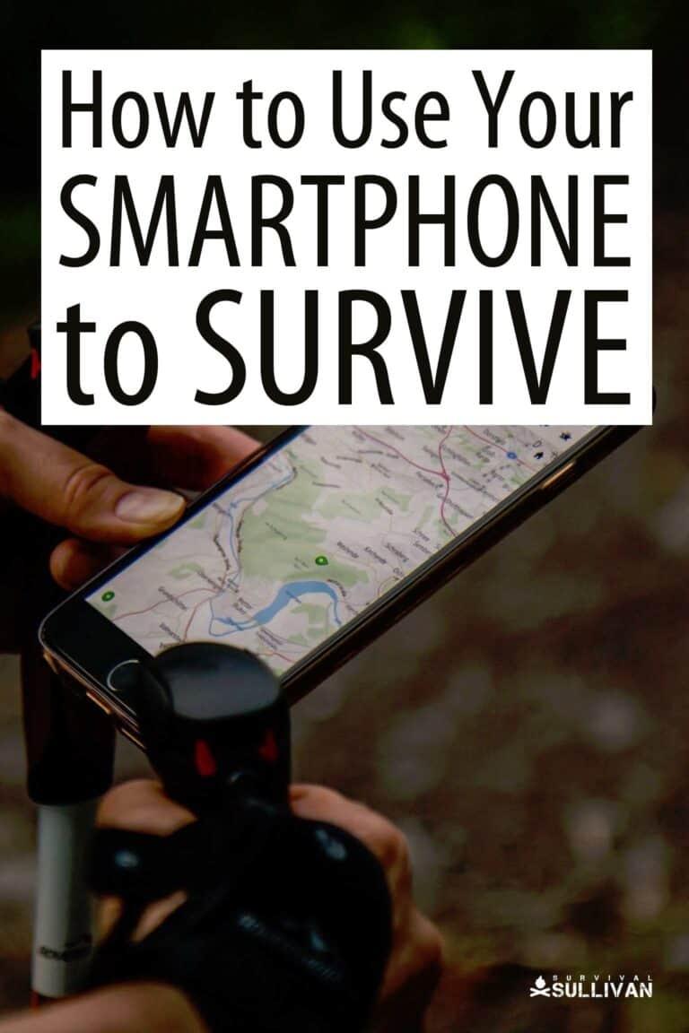 smartphone survival Pinterest image